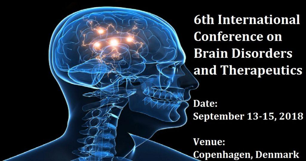 """VI Международная конференция """"Мозговые расстройства и терапия"""". Копенгаген"""