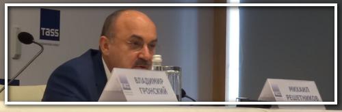 Пресс-конференция перед открытием в музее А. Суворова.
