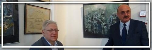 """Открытие выставки """"Моя война""""."""